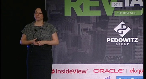 REVTalk: Global Education: The Key to Revenue Marketing Adoption