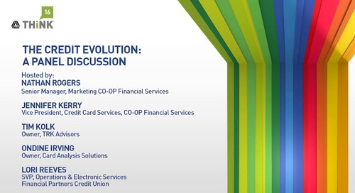 The Credit Evolution - A Panel Discussion