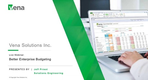 Sept 26th Better Budgeting Webinar by Jeff Priest