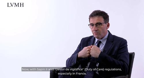 LVMH über das Risikomanagement in der Lieferkette und die Nutzung von EcoVadis