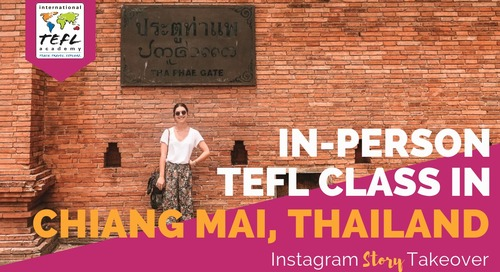 Day in the Life Taking the In-Person TEFL Class in Chiang Mai, Thailand with Devin Johnson