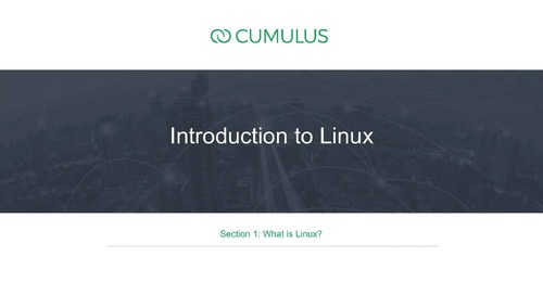 Intro to Linux – Section 1: What is Linux?