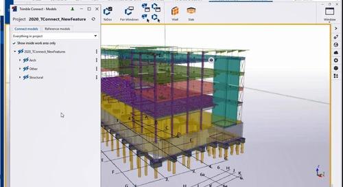 Tekla 2020 - Novidades para Engenharia Estrutural e Construtoras