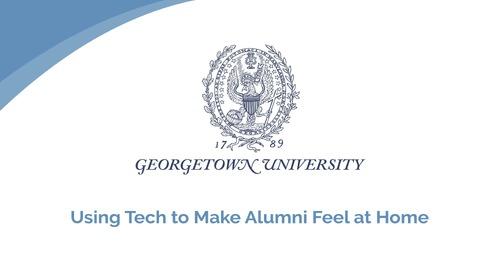 JoAnn Grainger: Using Tech to Make Alumni Feel at Home