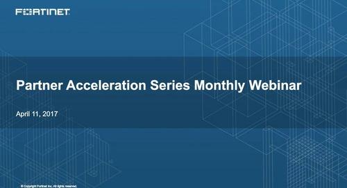 Partner Acceleration Series Webcast - April 2017