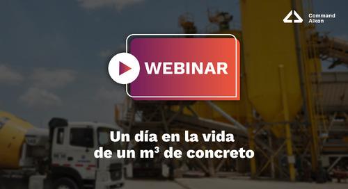 Un día en la vida de un m3 de concreto