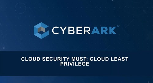 Cloud Security Must: Ensuring Least Privilege