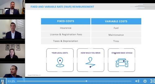 Fixed and Variable Rate (FAVR) Reimbursement Breakdown