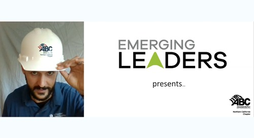 ABC NorCal Emerging Leaders Webinar