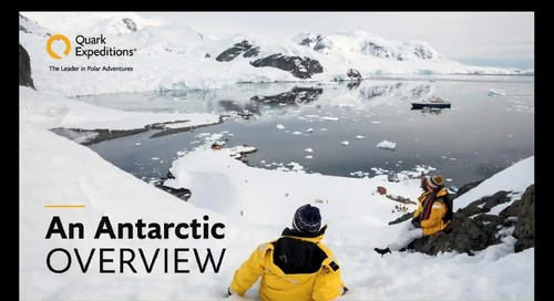 An Antarctic Overview - Presented in EST - Aug 1, 2019