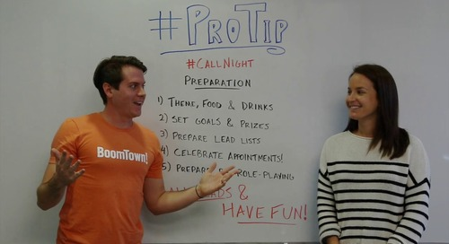 ProTip: Get Call Night Right with These 5 Tips