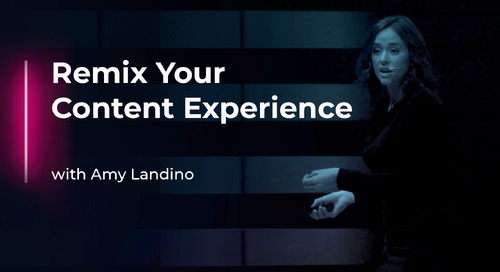Remix Your Content Experience with Amy Landino