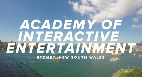 Academy of Interactive Entertainment & Canvas- Empowering Workforce-Ready Students
