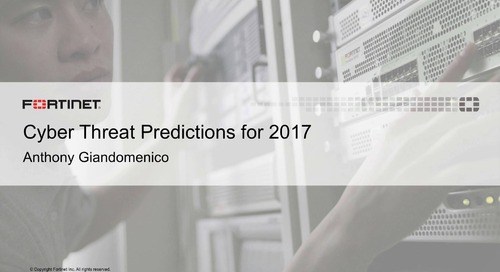Cyber Threat Predictions for 2017