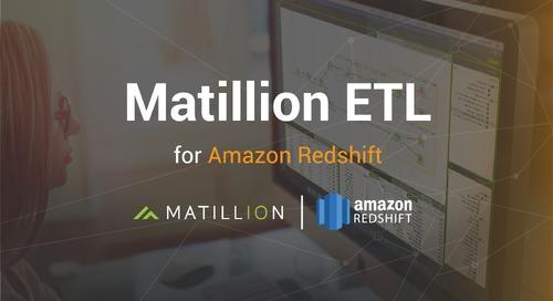 Introducing Matillion ETL for Amazon Redshift