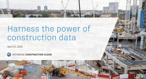 Construction Executive On-Demand: Harness the Power of Construction Data