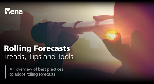 Rolling Forecasts - Trends, Tips and Tools