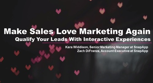 Make Sales Love Marketing Again