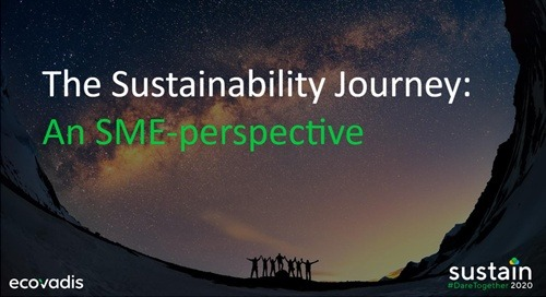 The Sustainability Journey: An SME-perspective, Sustain 2020