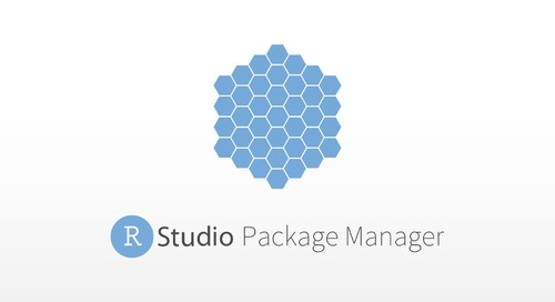 Introduction to the RStudio Package Manager - Sean Lopp