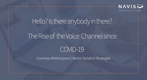 The Rise of the Voice Channel since COVID-19