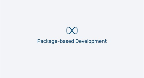 Appirio DX - Package-based Development