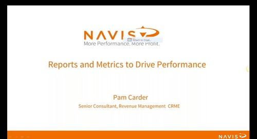 NAVIS Performance Webinar Series: Reports and Metric to Drive Performance
