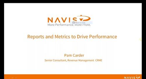 NAVIS Performance Webinar Series: Reports and Metric to Drive Performance