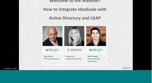 Integrate IdeaScale with Active Directory & LDAP
