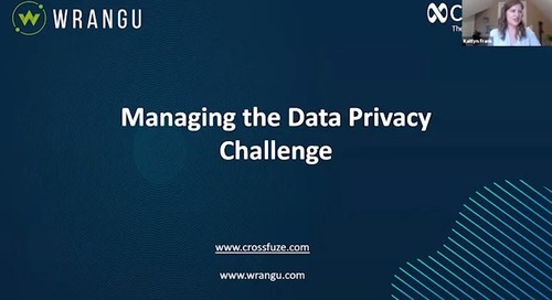 On-Demand Webinar: Managing the Data Privacy Challenge with Privacy Hub