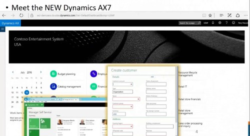 Western Computer Presents What's New in Dynamics AX