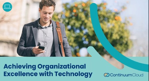 Achieving Organizational Excellence with Technology
