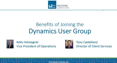 Benefits of Joining the Microsoft Dynamics User Groups