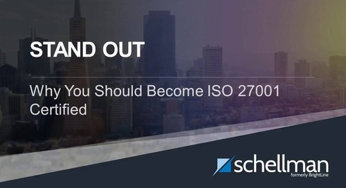 Stand Out - Why You Should Become ISO 27001 Certified