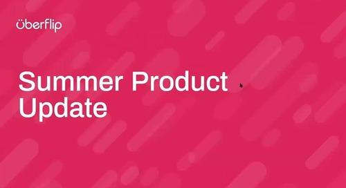 Summer 2020 Product Update Webinar