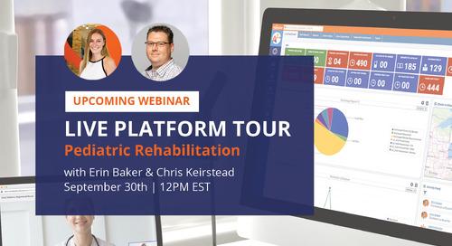 Pediatric rehabilitation - Live Platform Tour