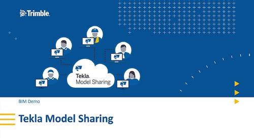Tekla Model Sharing Demo - Ger subs