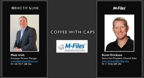 Information Innovation Podcast: Coffee with CAPs - Objectif Lune
