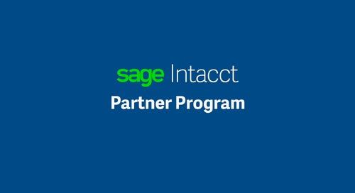 Sage Intacct  Partner Program || Taylor and Susan