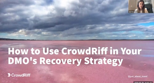 How to use CrowdRiff in your DMO's recovery strategy