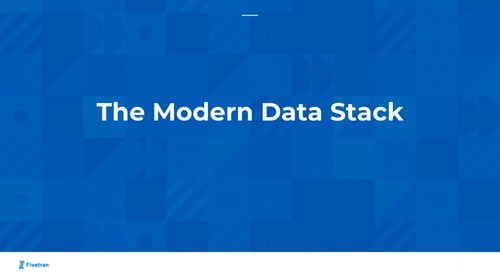How To Set Up A Modern Data Stack