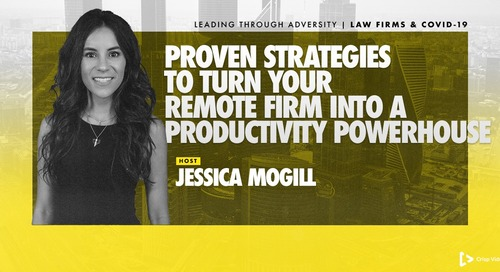 Proven Strategies to Turn Your Remote Firm into a Productivity Powerhouse