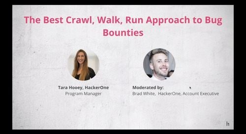 The Best, Crawl, Run Approach to Bug Bounties
