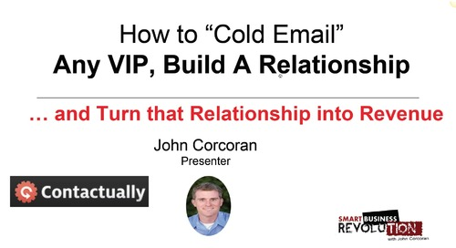 """How To """"Cold Email"""" Any VIP"""