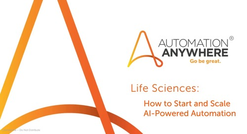 Life Sciences How to Start and Scale AI-Powered Automation