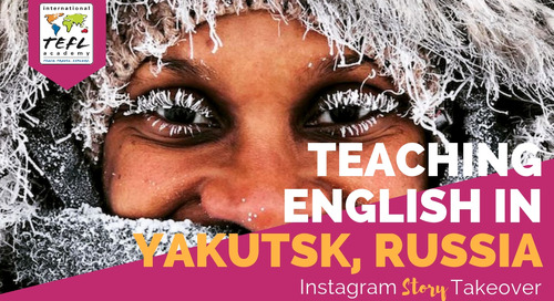 Day in the Life Teaching English in Yakutsk, Russia with Kristine Bolt