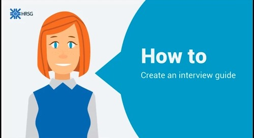 How to create an interview guide