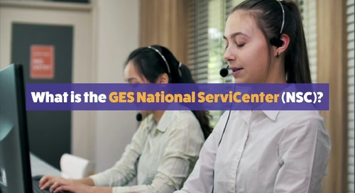What is the GES National ServiCenter (NSC)?