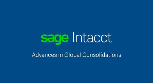 Advances in Global Consolidations