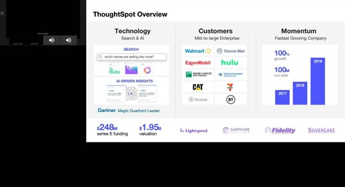 Webinar: Faster Time to Insight with Thoughtspot, Snowflake, and Fivetran